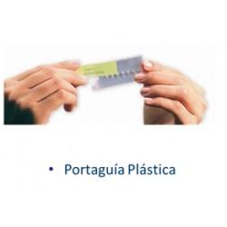Portaguía Plástica Transparente- X 10