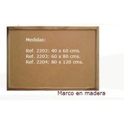 Cartelera Marco en Madera