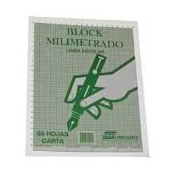 Block Milimetrado x50hojas